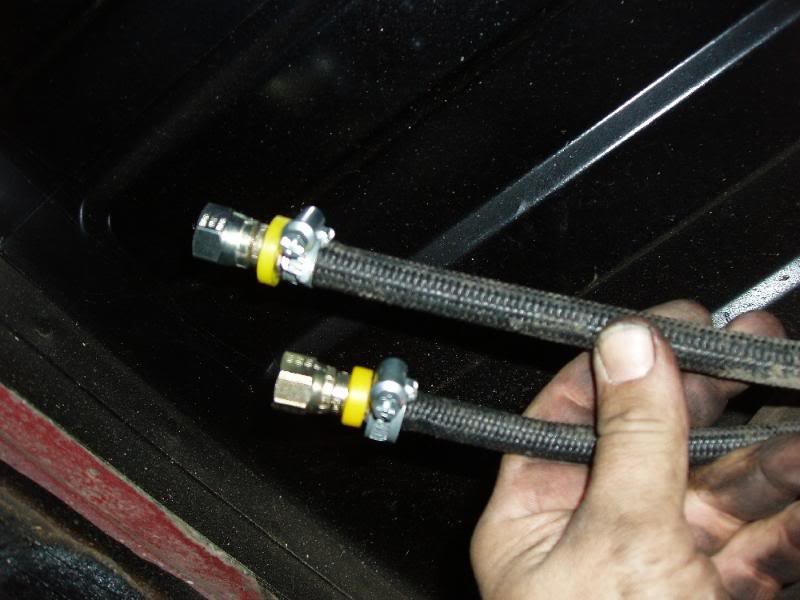 fuel line quick disconnect fittings  fuel  free engine